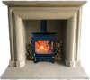 Simplicity natural stone fireplaces